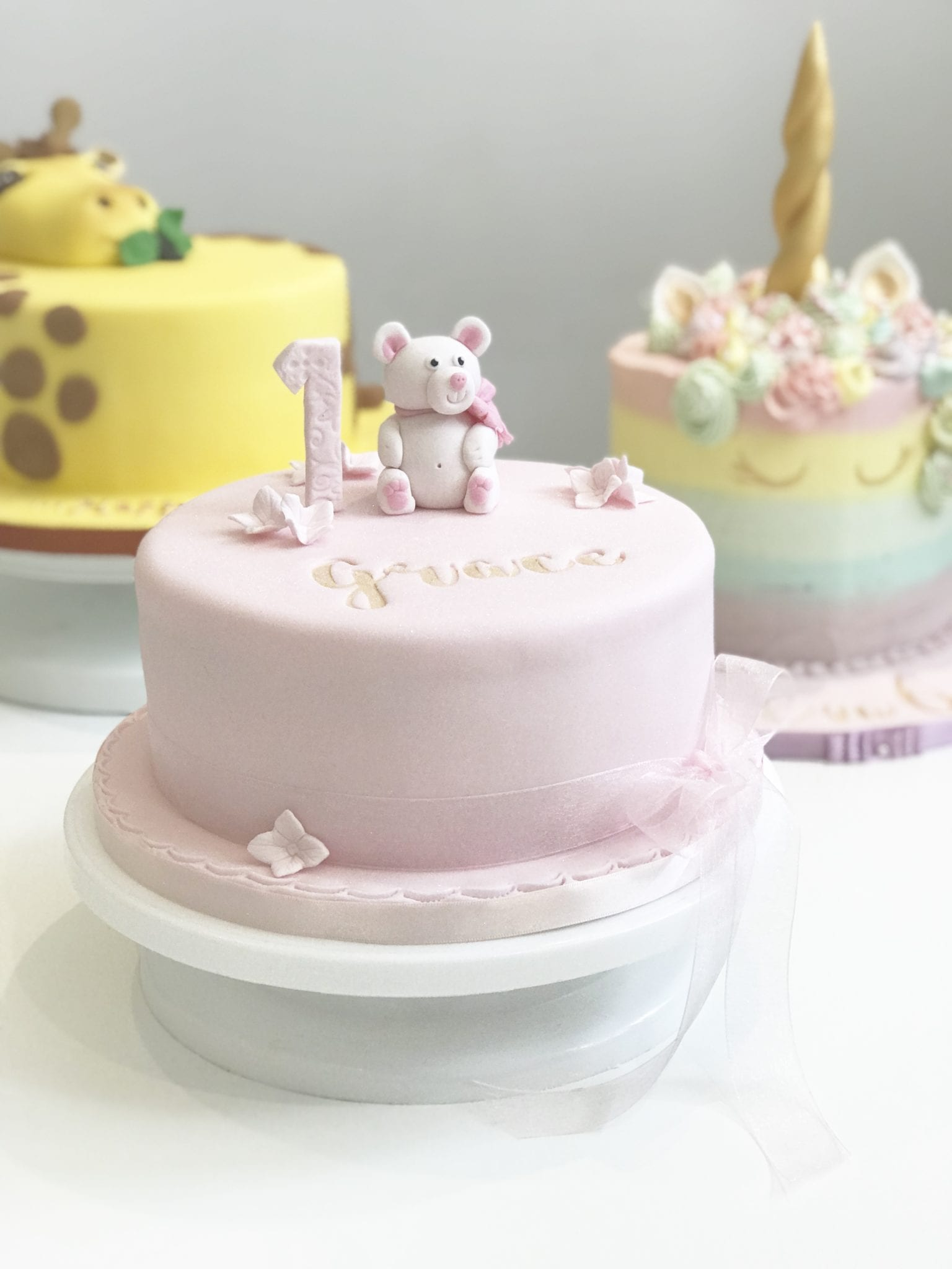 Demonstration Session – Ice a Cake Saturday 14th March 2020 10.30-12.30 – £15
