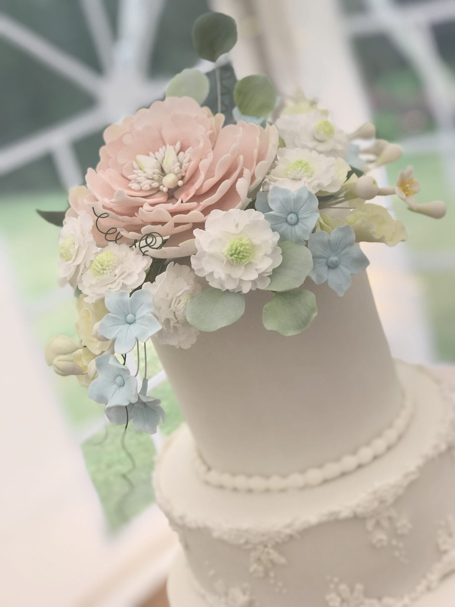 Two Tier Stacked Cake – Saturday 4th & Sunday 5th April 2020 10.30 – 4pm, £180