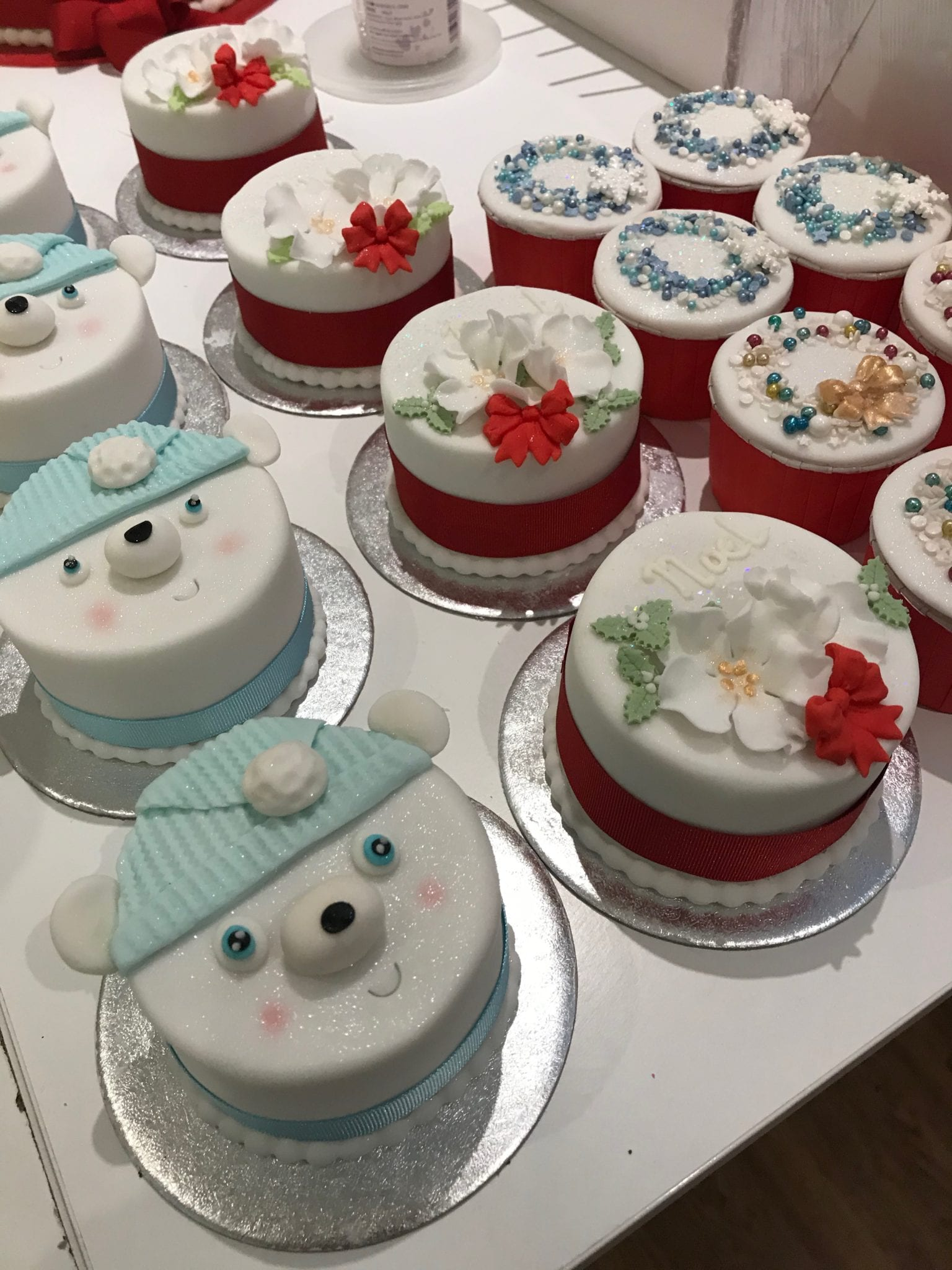 Read more about the article Mini Christmas Cakes  – postponed