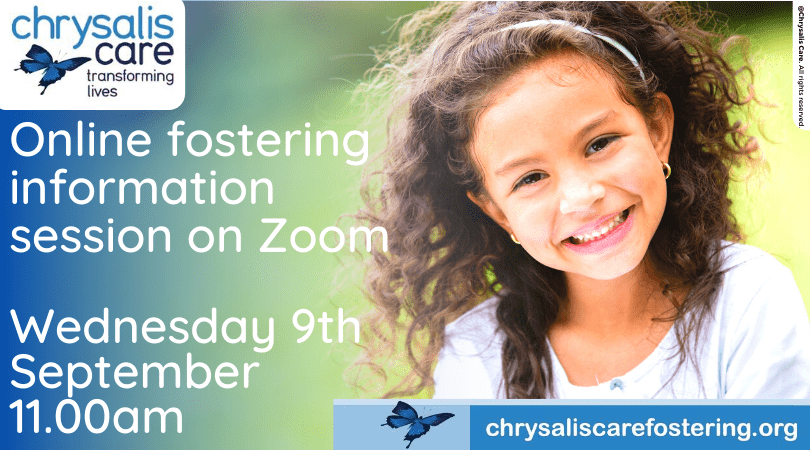 Chrysaliscare Fostering - Online Fostering Information Session