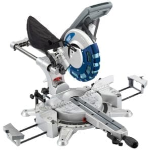 Double Bevel Sliding Compound Mitre Saw Draper
