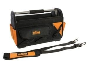 Open Tote Tool Bag Hard Base
