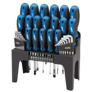 Screwdriver Set 44PC Soft Grip