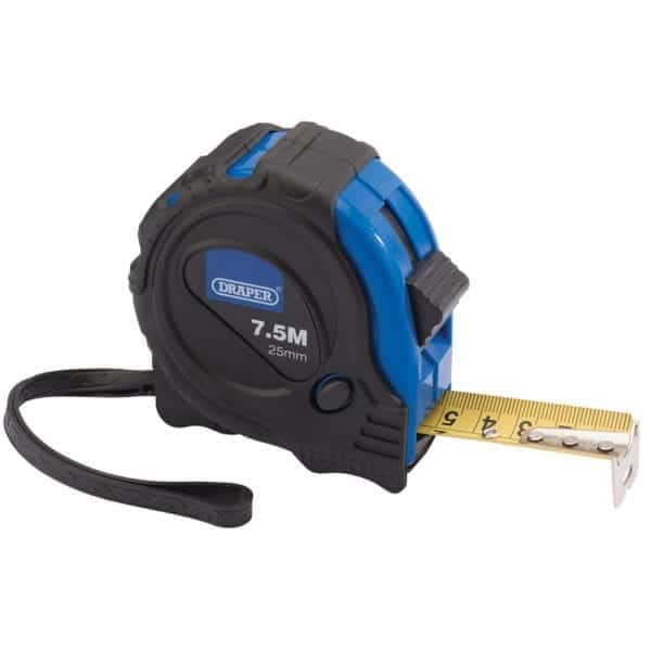 Tape Measure 7.5m Draper