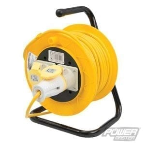 Extension Cable Reel 110V 16AMP 25m 2 Sockets