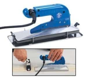 Crain Deluxe Heat Seam Iron Grooved 220V