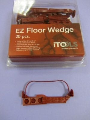 Adjustable Floor Spacer Wedges