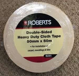 Roberts Double Sided Tape Heavy Duty Cloth