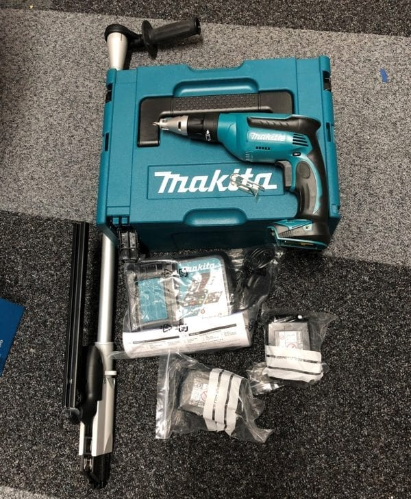 Spotnails Cordless Collated Screw system
