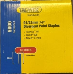 TACWISE 91 Series Staples Fits ME606
