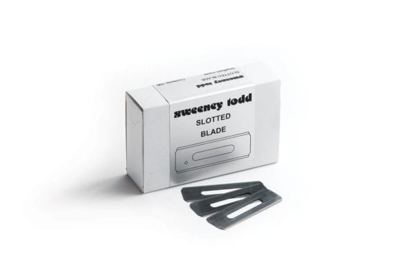 Sweeney Todd Slotted Blades