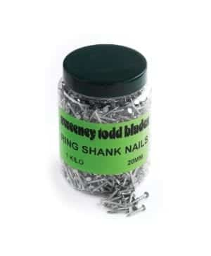 Ring Shank Nails 20mm 1kg Tub