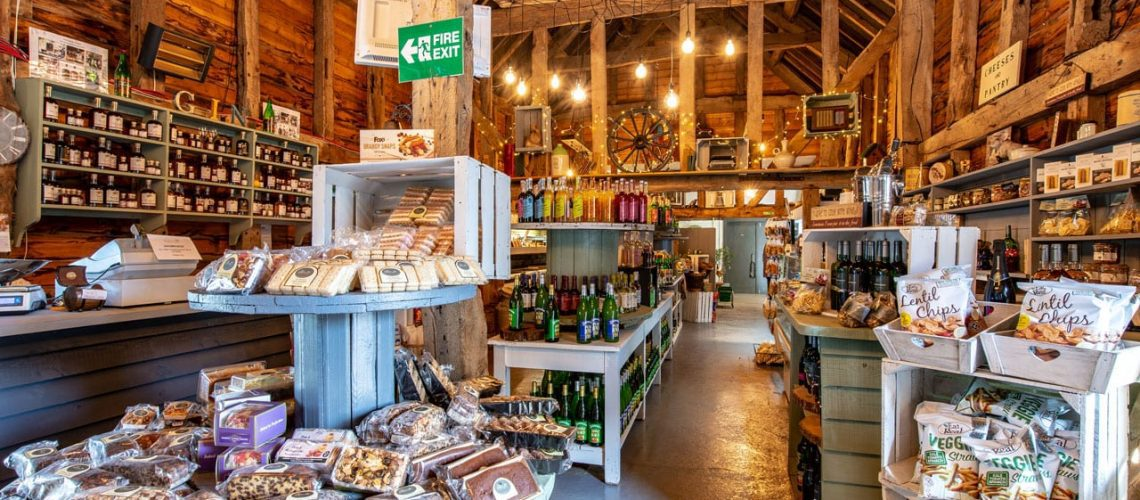 Refurbished Farm Shop