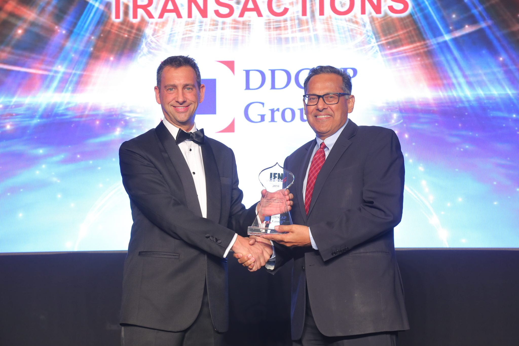 DDCAP Group Win IFN Service Providers Award