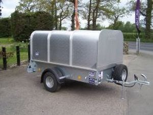Hire Livestock trailer from John Page Trailers in Kent