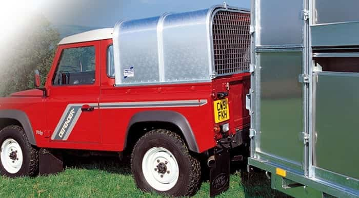 Ifor Williams Canopy to fit Landrover Defender 110 single cab – Reduced to clear