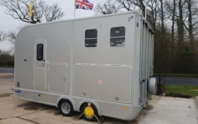 Used Ifor Williams Eventa M horse trailer with living