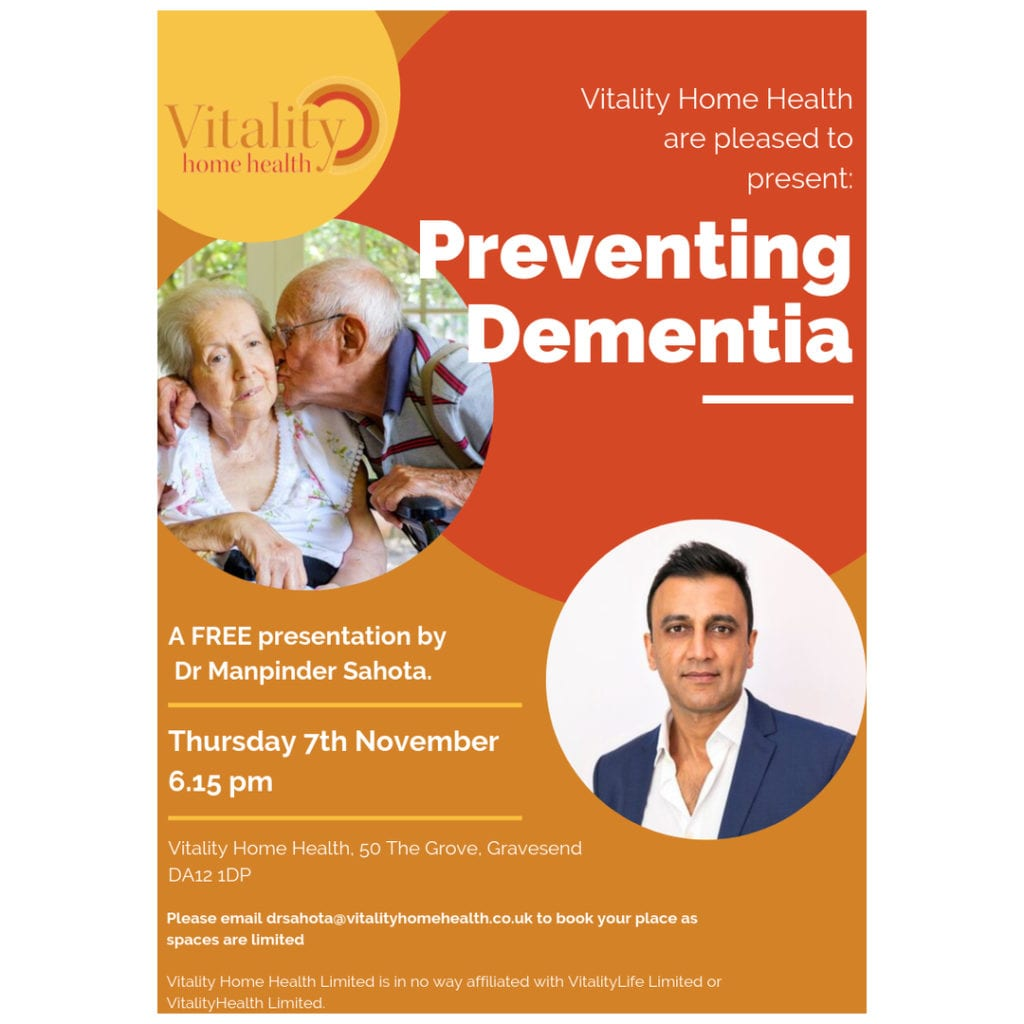 Preventing Dementia in Gravesend