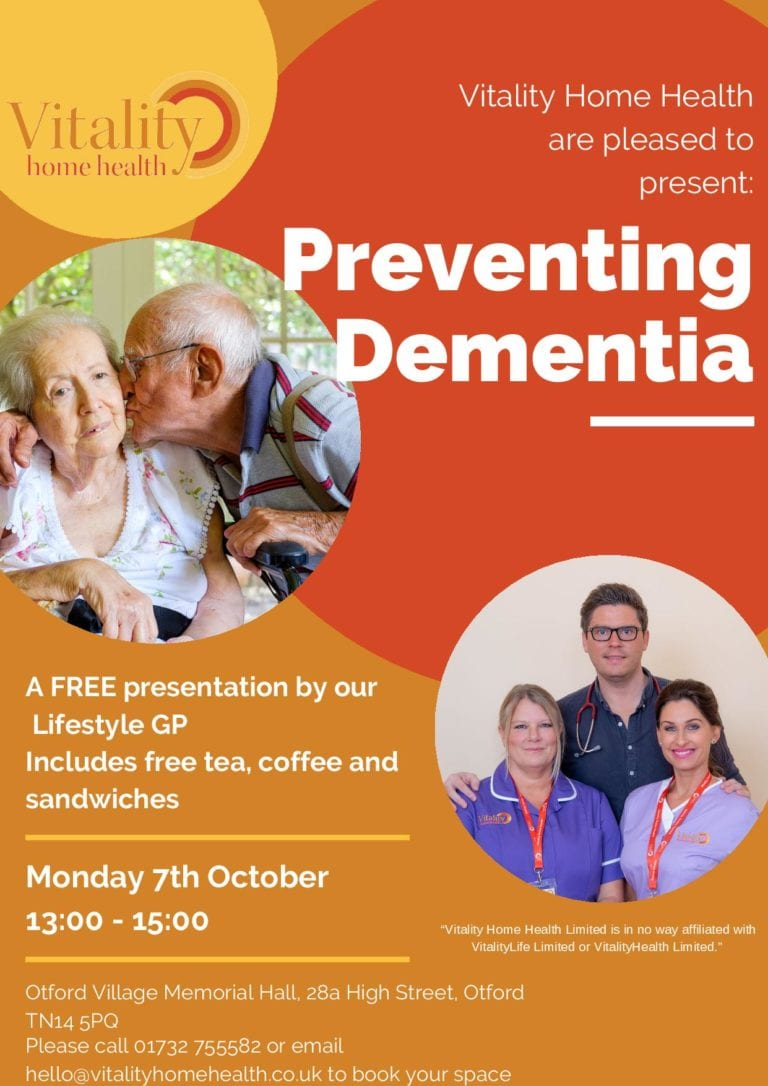 Preventing Dementia Otford