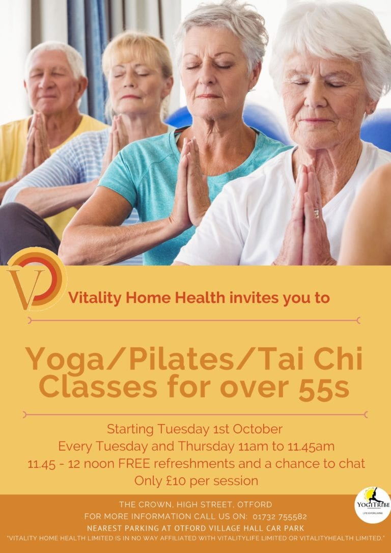 Yoga Sessions Vitality Sevenoaks