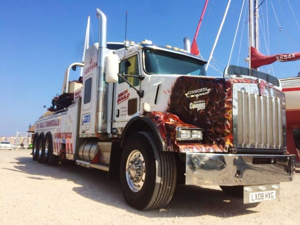 mick gould commercials kenworth rotator