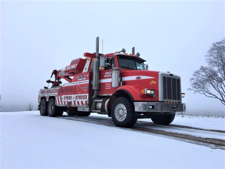 mick gould commercials peterbilt 357 rotator