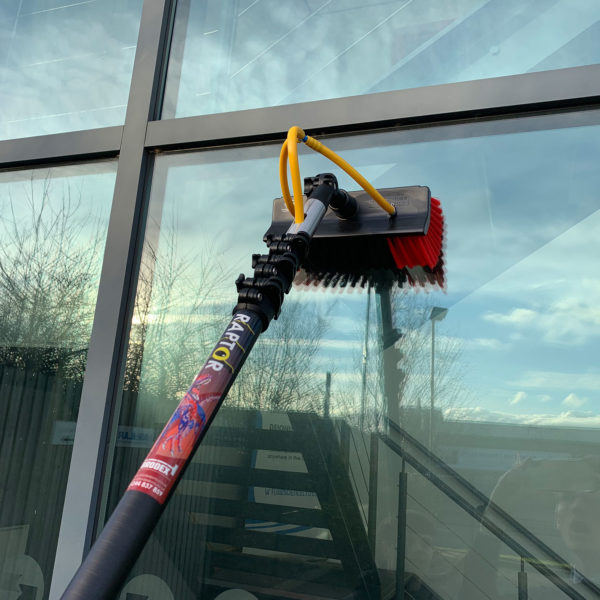 window cleaning pole, water fed pole,Carbon Fibre Water Fed Pole, Carbon Fibre Telescopic Pole, Window Cleaning Pole, RAPTOR Pole, Telescopic Cleaning Pole, Window Cleaning Equipment, Carbon Pole, Window Cleaning Brush
