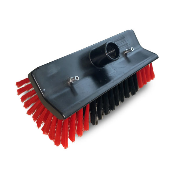 window cleaning brush, water fed brush head, sill brush
