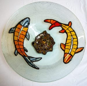 Teach Me - KOI Glass Applique