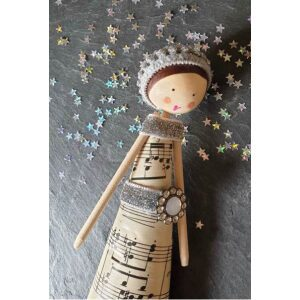 Teach Me - Vintage Fairy and Tree Decorations