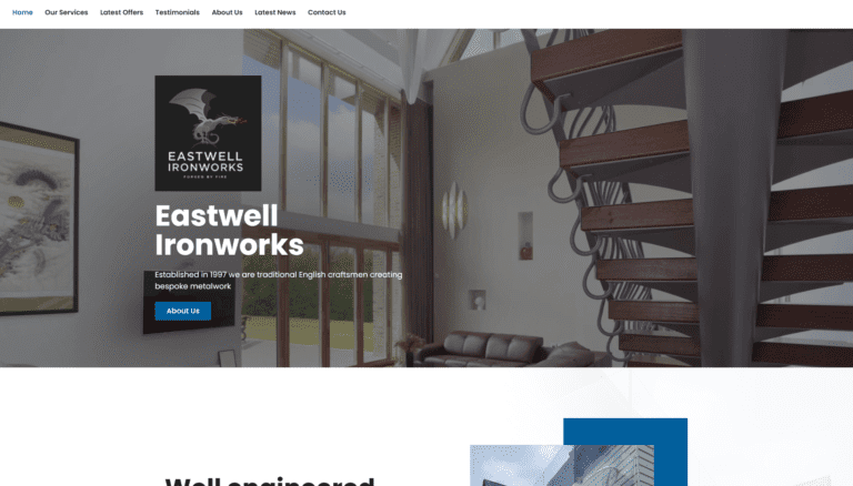 Eastwell Ironworks - Our new website