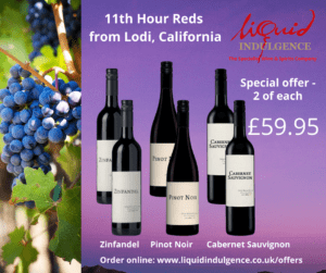 Liquid Indulgence - 11th hour red Californian offer