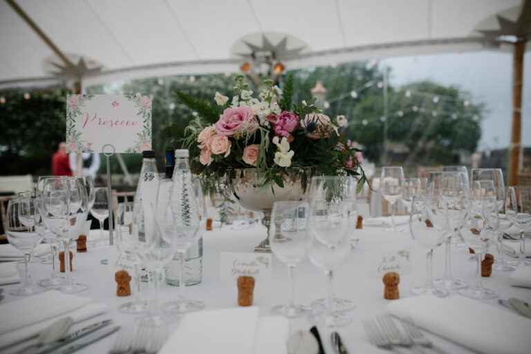 Inspired Event Structures - Felicity and Richard's Wedding